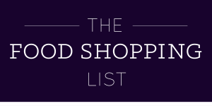 The food shopping list-01