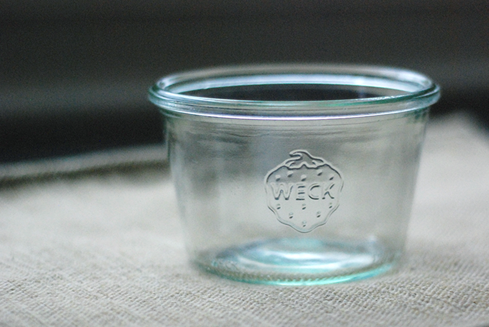 weck jar empty