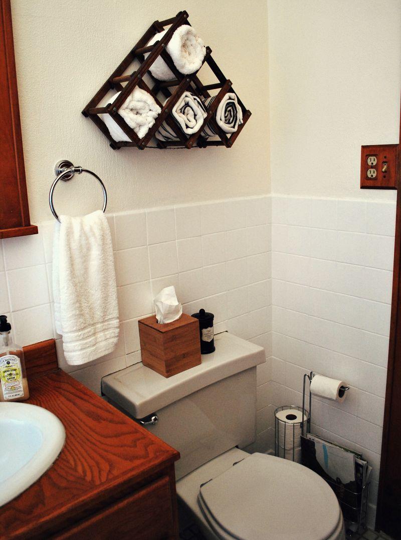 Дизайн ванной своими руками из подручных 79