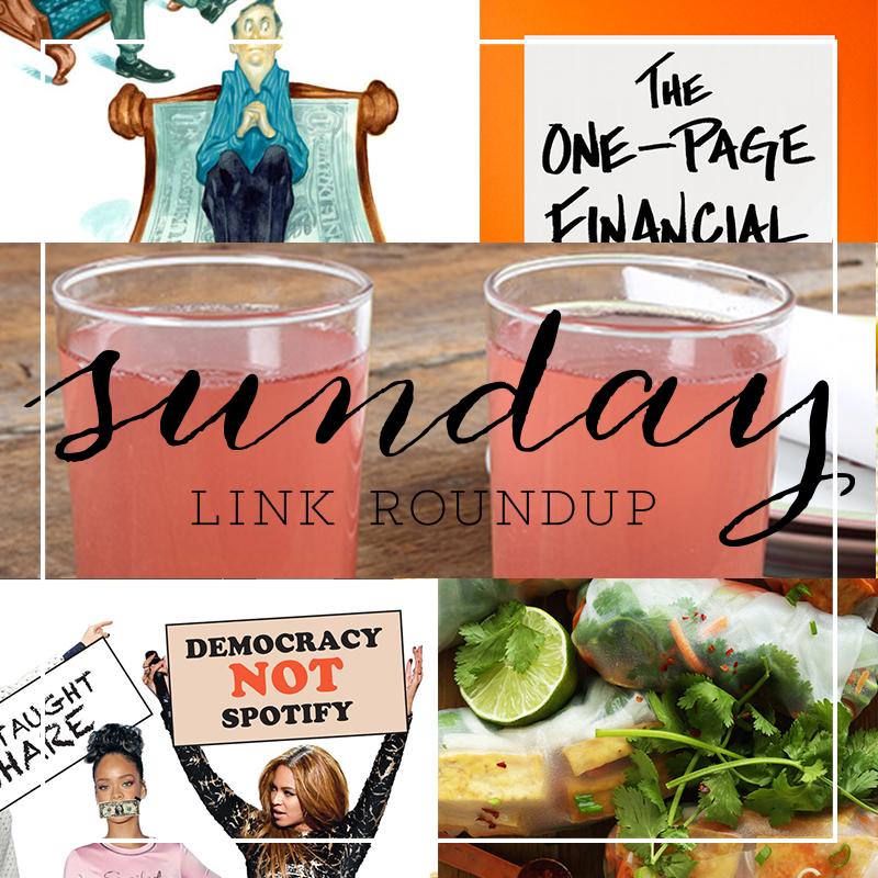 Sunday Link Round Up 9
