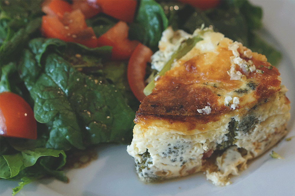 plated-quiche