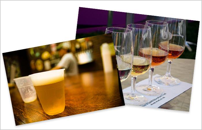 wine beer tasting classes