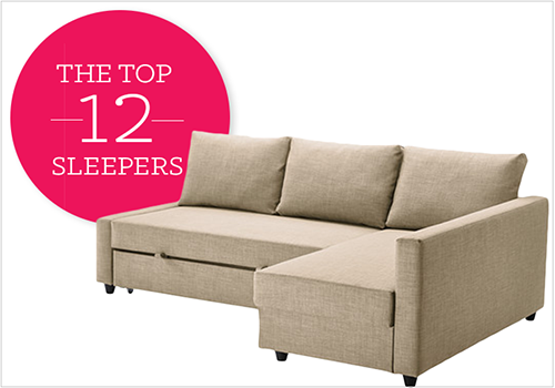 12 Affordable (And Chic) Sleeper Sofas For Small Living Spaces