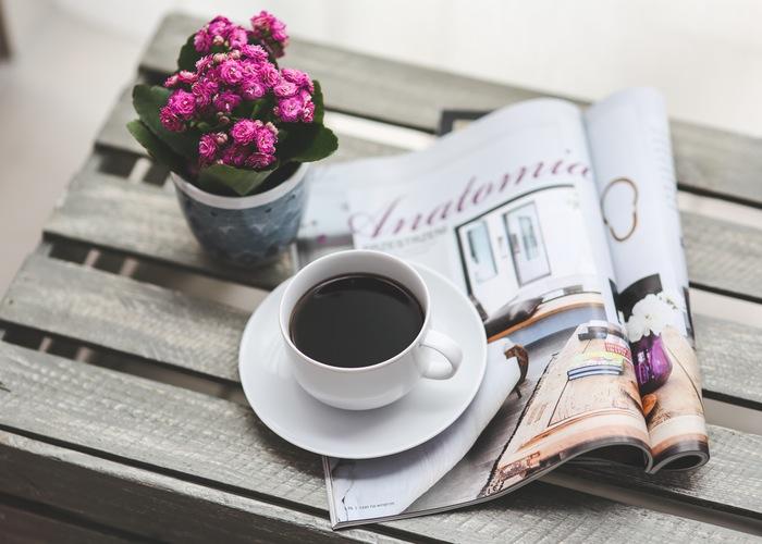 coffee-flower-reading-magazine