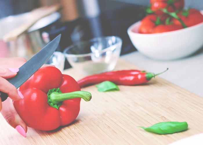 cutting-veggies