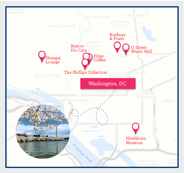 washington DC_map