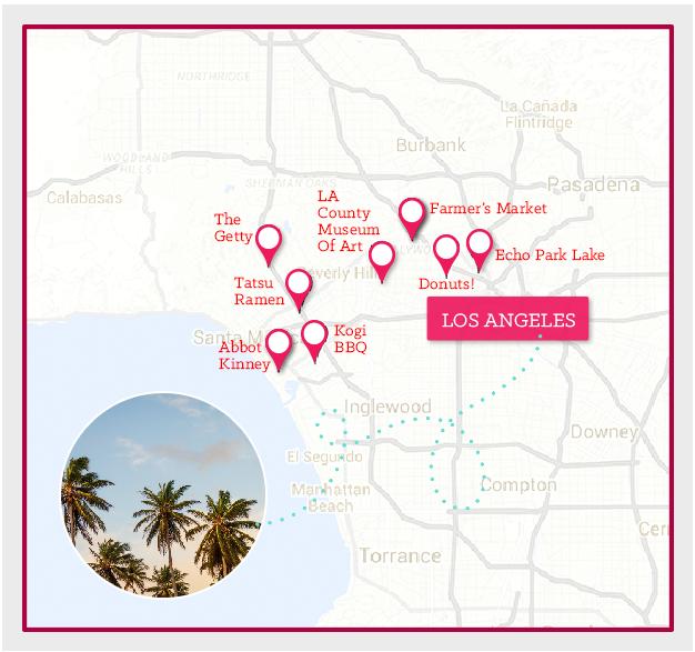 National Car Rental_Los Angeles_Map