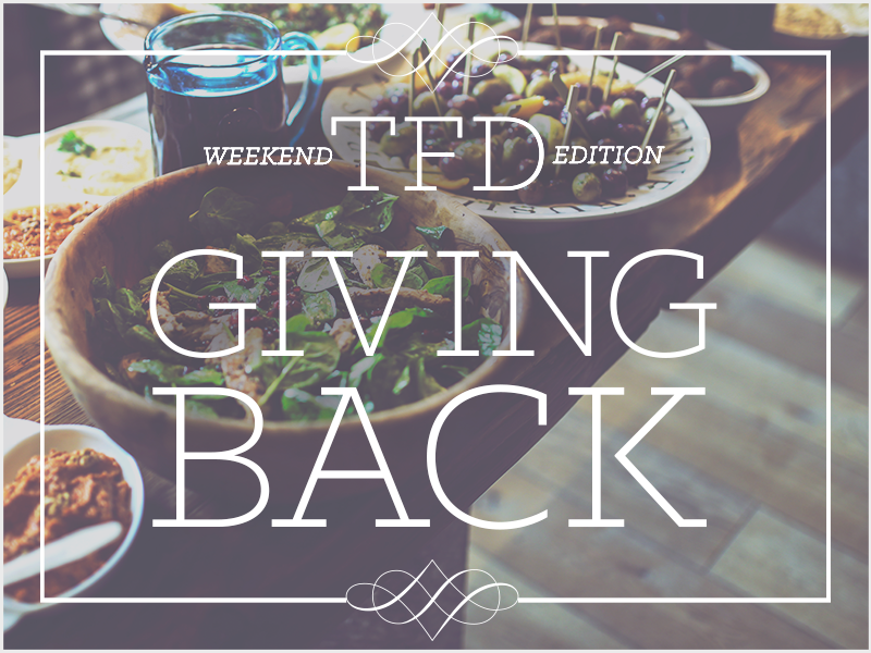 TFD_Weekend-Edition-Giving-Back_main