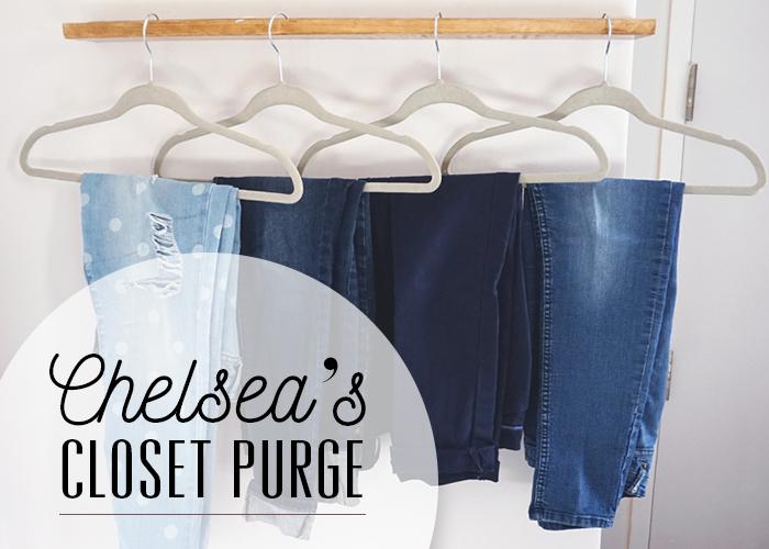 Chelsea's Closet Purge