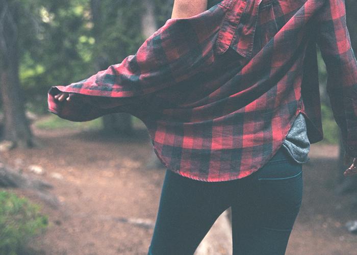 woman-in-flannel