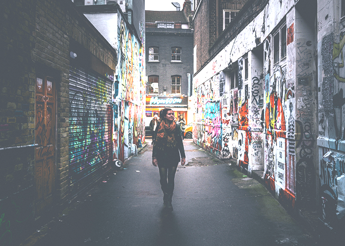 girl-walking-in-alley