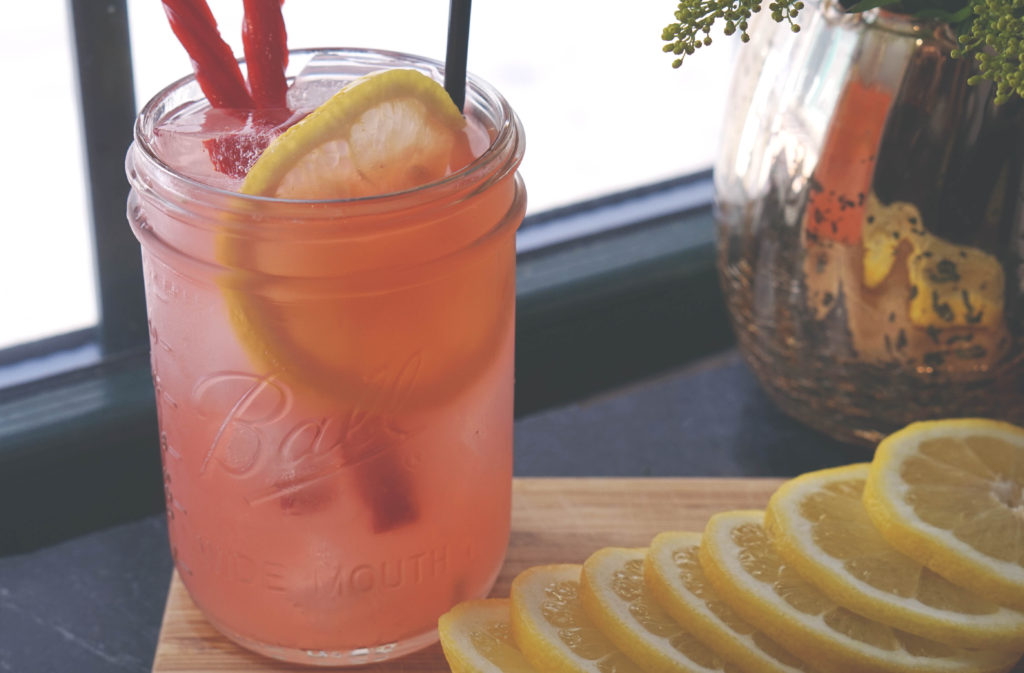 drink in jar