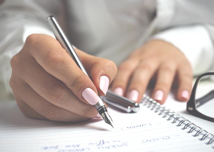 nails-and-writing