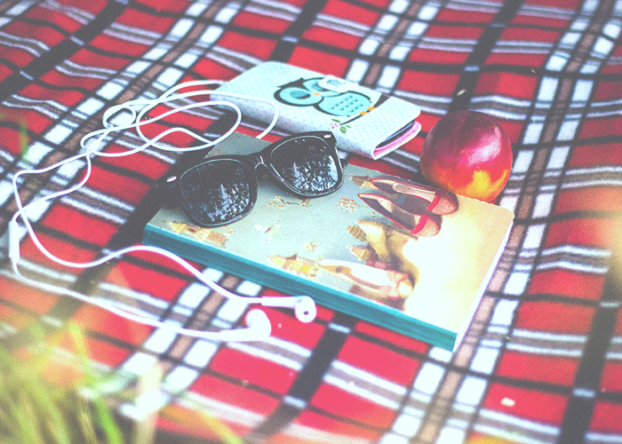 wallet-phone-sunglasses-on-blanket