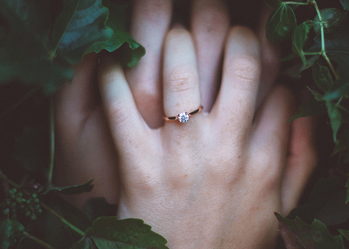 No One Wants Your Comments About Their Engagement Ring