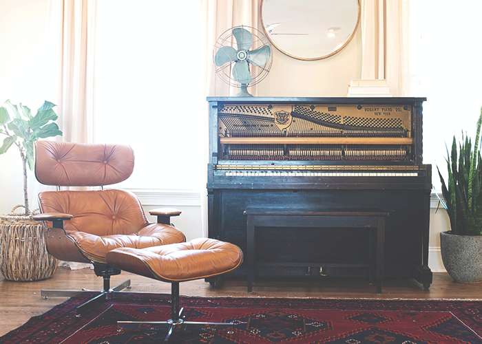 living-room-with-chair-piano