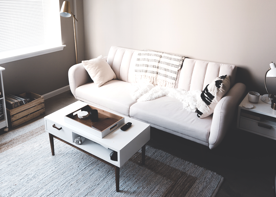 How I Furnished My First Apartment For Less Than $1,000