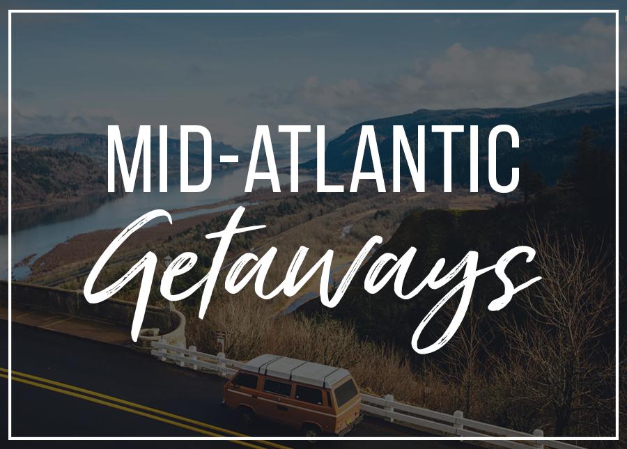 mid-atlantic affordable weekend getaways