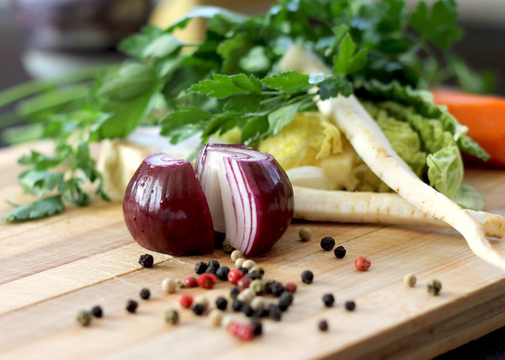 vegetable storage and prep